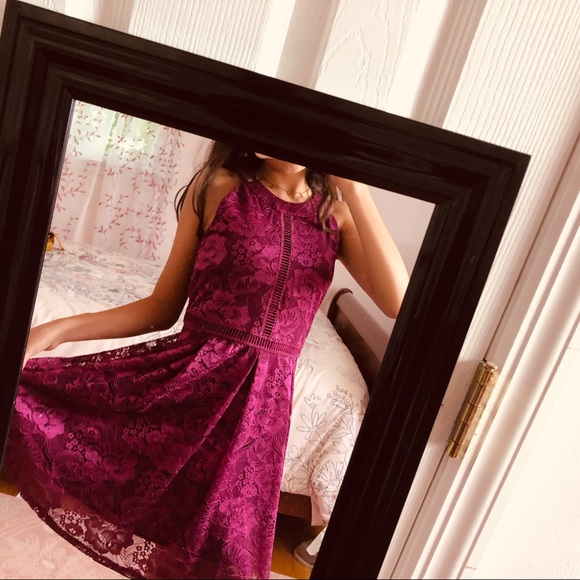 BCX Girl Other - Formal Purple Lace